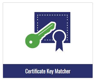 certificate key matcher