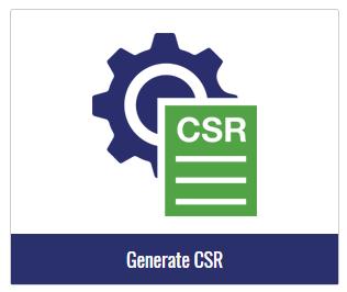 generate csr